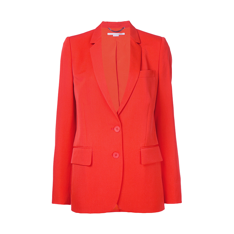 red blazer stella maccartney