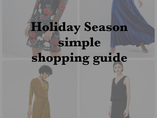 Your Holiday Season simple shopping guide