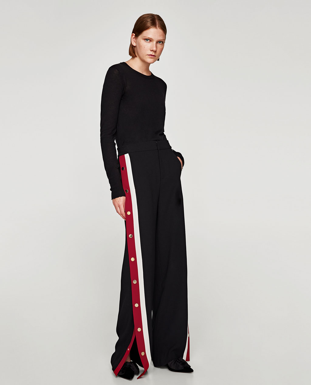 Panel trousers Zara