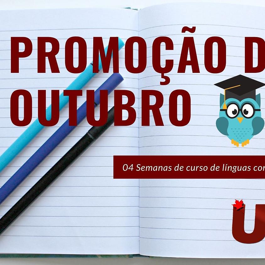 PROMOÇÃO RELÂMPAGO OUTUBRO!