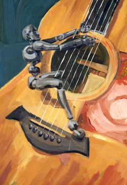 Joey Plays Guitar