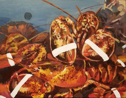 Crocery Store Lobster 1/3