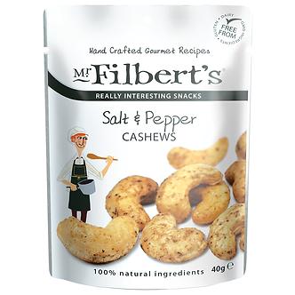 Salt & Pepper Cashews Mr. Filberts 50g