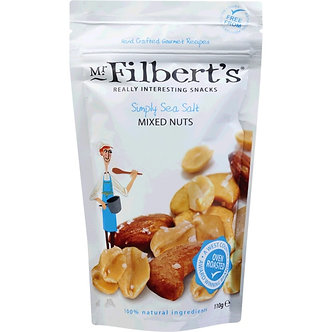 Simply Sea Salt Mixed Nuts Mr. Filberts 110g