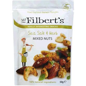 Sea Salt & Herb Mixed Nuts Mr. Filberts 50g