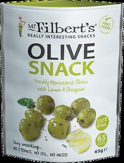 Azeitonas com Limão e Orégãos Mr. Filberts 65g