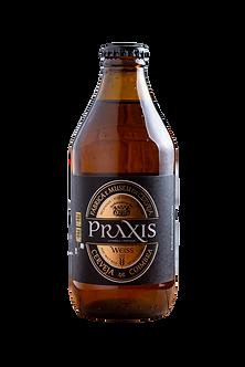 Cerveja Artesanal Praxis Weiss 0,33l