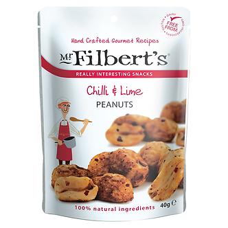 Chilli & Lime Peanuts Mr. Filberts 40g