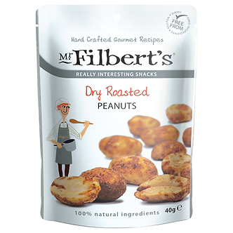 Dry Roasted Peanuts Mr. Filberts 40g