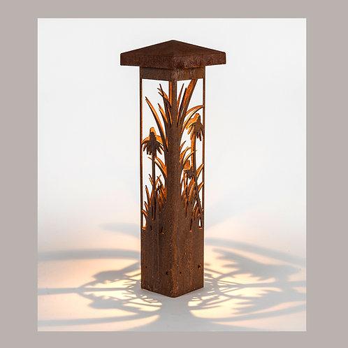 Coneflower Bollard Light