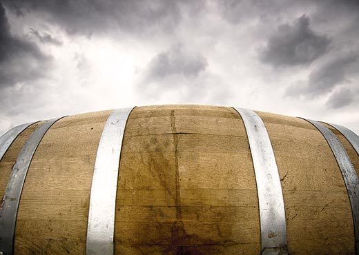 barrel_with_cloud_background