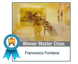 Art Muse Contest Winner, Nov 2016, Master Class Winner: Francesco Fontana