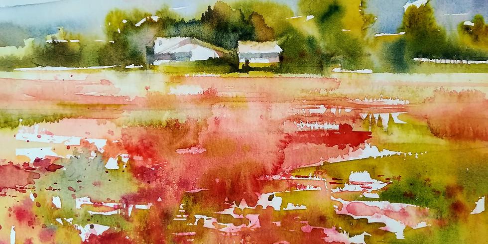 La Forza dell'Acqua: Watercolor Demo (1)