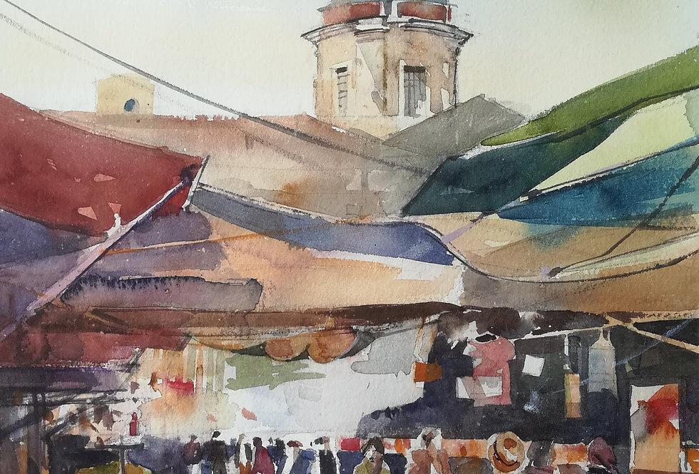 Ballaro, The Market