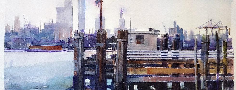 New York Bay Wharf