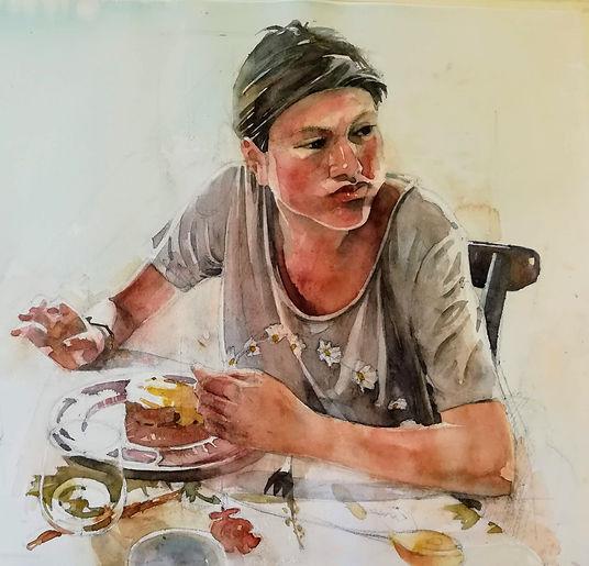 Teresa Breakfast 20190118.jpg
