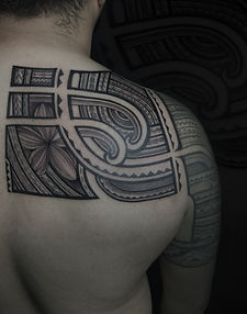 polynesian tattoo art and design