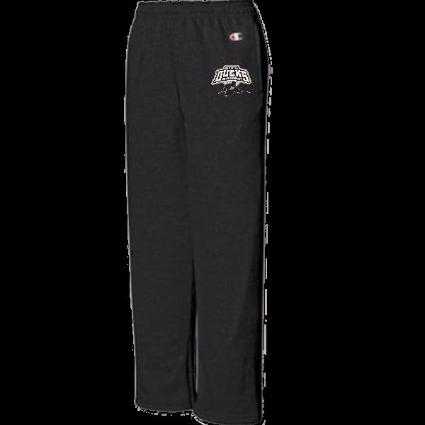 Champion Youth Double Dry Eco Fleece Open Bottom Pant W/Pockets