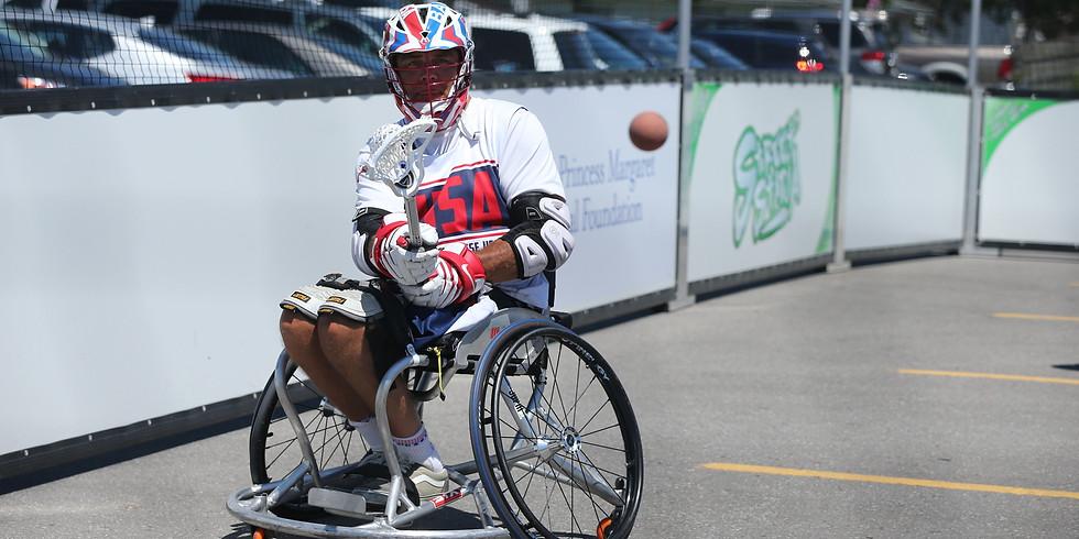 Team Summer Event 2 - Wheelchair Lacrosse