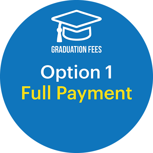 Graduation Fee Payment - Option 1