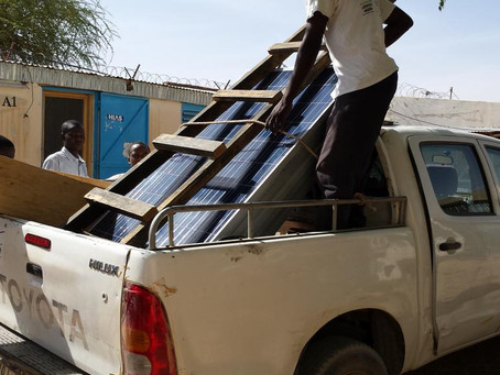 Our 2015 Project in Chad - Powering Schools in Refugee Camps