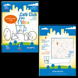 Flyer Café Club des Élus