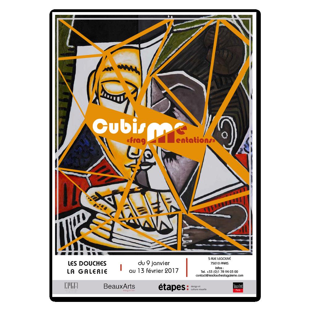 Affiche exposition cubisme