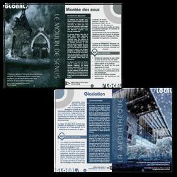 Doubles-pages catalogue d'exposition