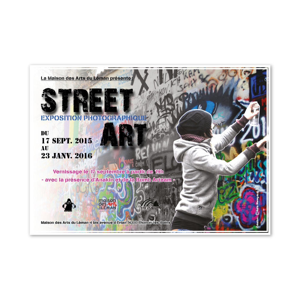 Flyer exposition street art