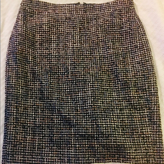 J. Crew Multi-Color Tweed Pencil Skirt 4