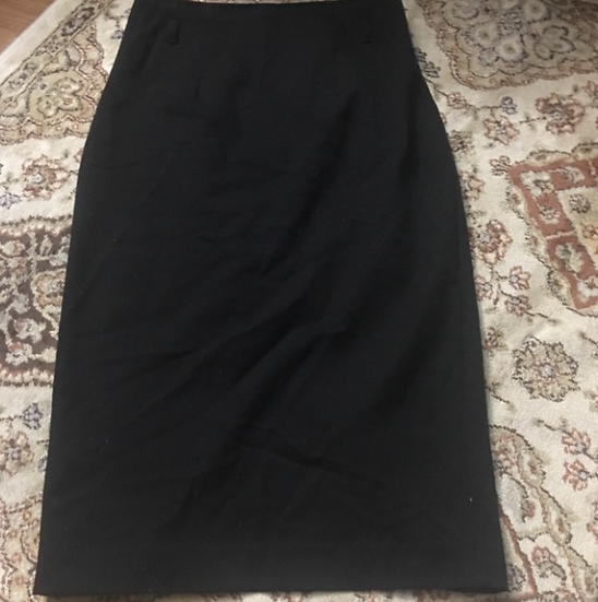 Express High-Waisted Black Pencil Skirt Size - 00