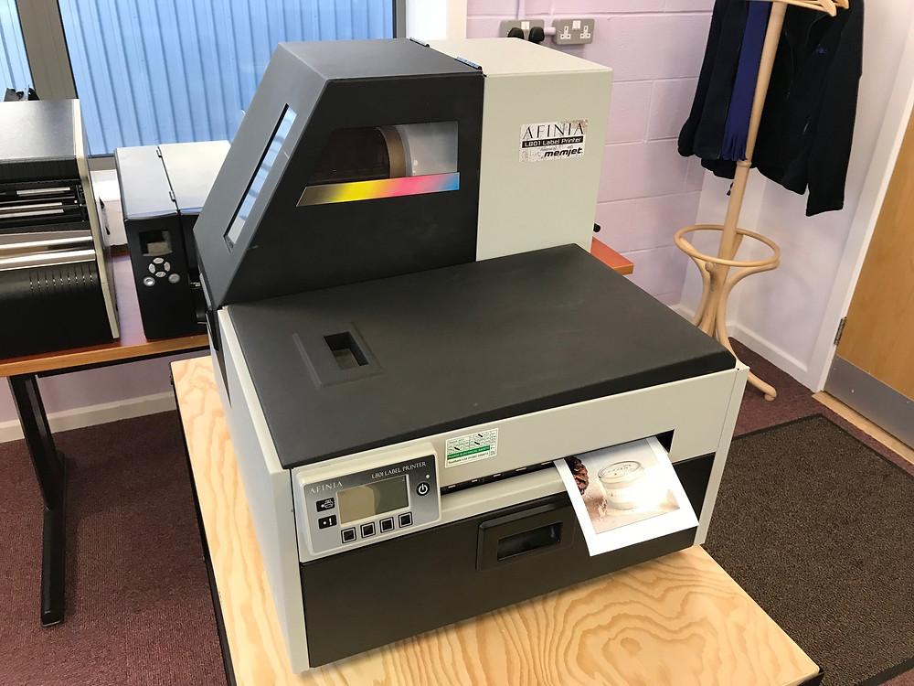 Inkjet Printer - Crown Labels