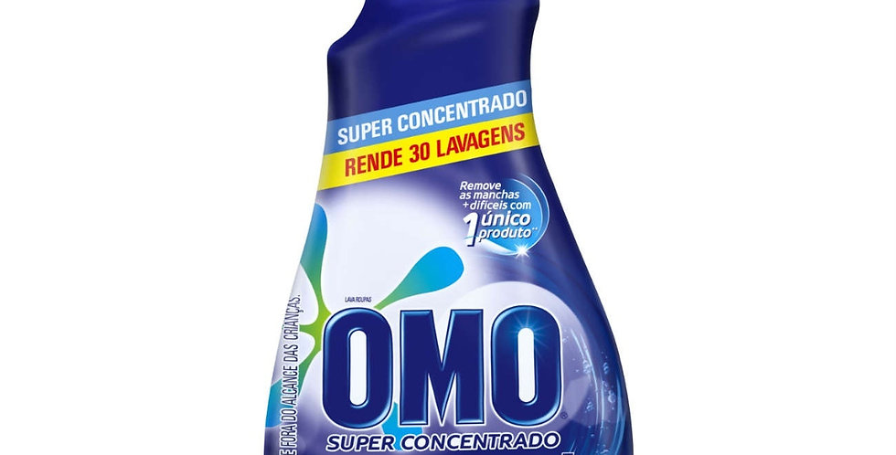 SABÃO LÍQUIDO SUPER CONCENTRADO OMO PROGRESS 1050ML