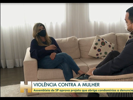 Rede Globo - Jornal Hoje - Lei 2510/2020