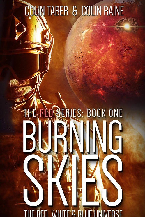 RED#1: Burning Skies