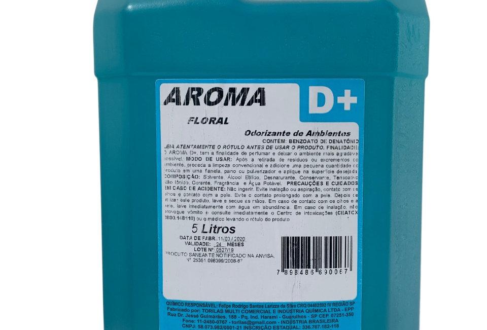 ÁLCOOL PERFUMADO AROMA D+ 5L