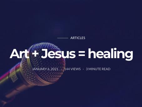 Art + Jesus = Healing