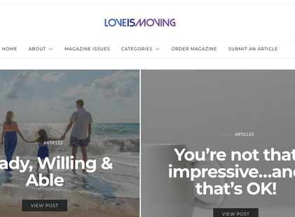 Love Is Moving Magazine