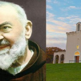 Our first ever trip to the Shrine of Padre Pio in Barto, PA.