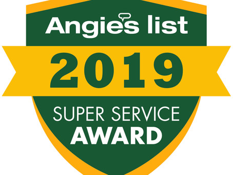 Antonio Ceriello Electric Earns Esteemed 2019 Angie's List Super Service Award.