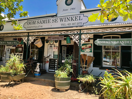 Oom Samie se Winkel:  A Living Museum in the heart of the Cape Winelands