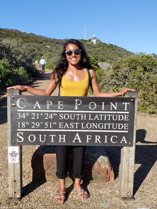 Cape Point GPS coordinates
