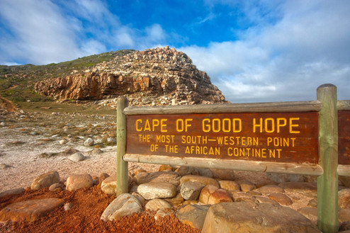 Iconic Cape of Good Hope sign