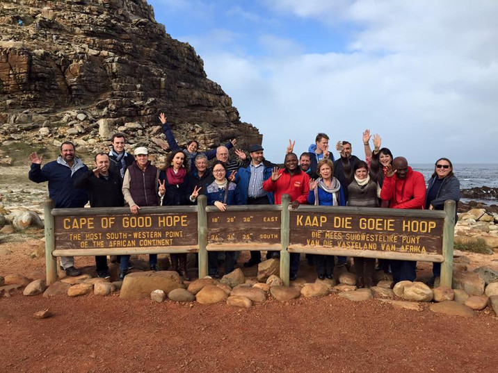 We made it to the Cape of Good Hope!