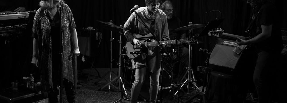 T-Bone Andersson- Guitar and Keyboards, Bernie Barlow- Background Vocals, Mini Diaz- Lead Vocals, Ukulele & Guitar, Jerry Marotta- Drums/Percussion, Jorgen Carlsson- Bass