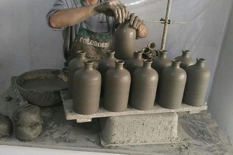 Creazione orci in ceramica di Grottaglie