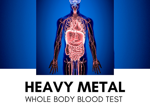 Metals Whole Blood Test