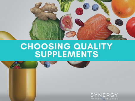 Choosing Quality Supplementation