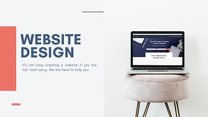 INSPIREDVA -WEBSITE DESIGN PRESENTATION.