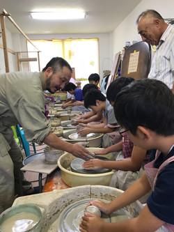 1日目陶芸教室①